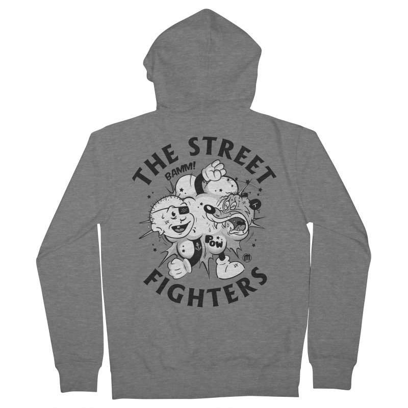 The Street Fighters Women's French Terry Zip-Up Hoody by MXM — collection