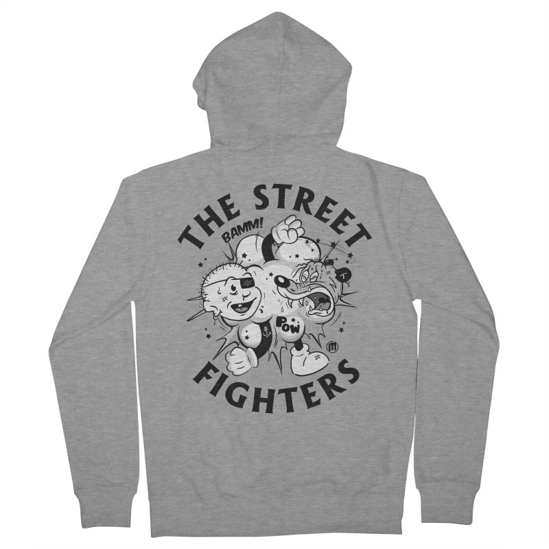 The Street Fighters Men's French Terry Zip-Up Hoody by MAXIMOGRAFICO — collection