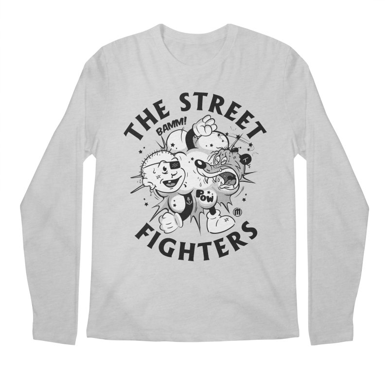 The Street Fighters Men's Longsleeve T-Shirt by MAXIMOGRAFICO Ltd. Collection