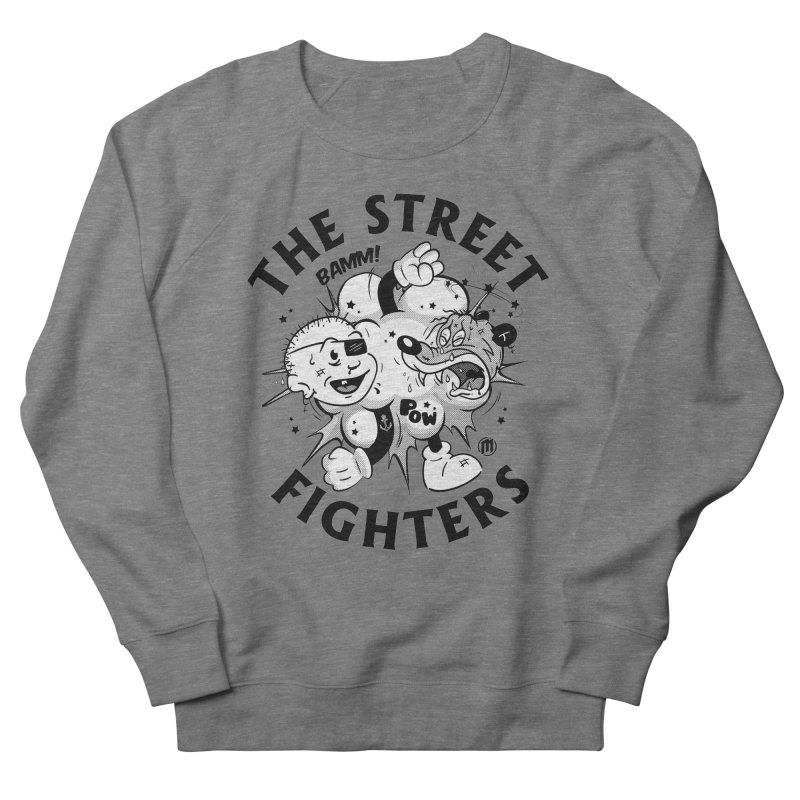 The Street Fighters Men's Sweatshirt by MAXIMOGRAFICO Ltd. Collection