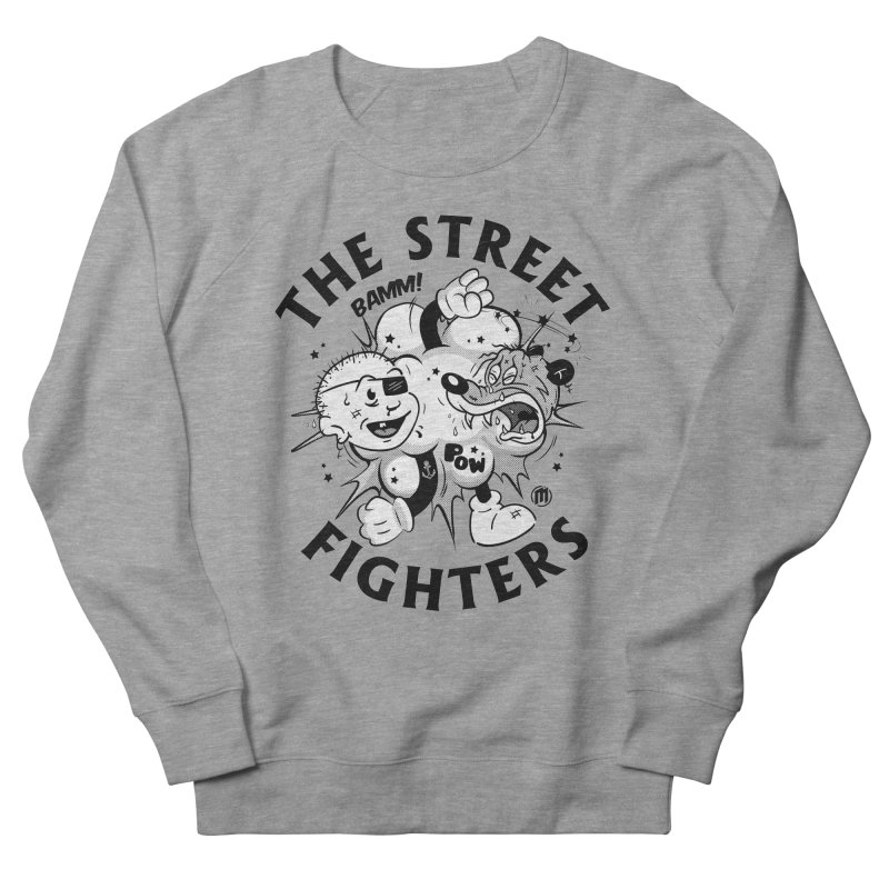 The Street Fighters Men's French Terry Sweatshirt by MAXIMOGRAFICO — shop