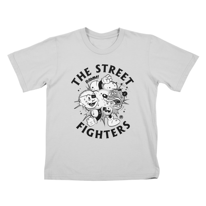 The Street Fighters Kids T-Shirt by MAXIMOGRAFICO — shop