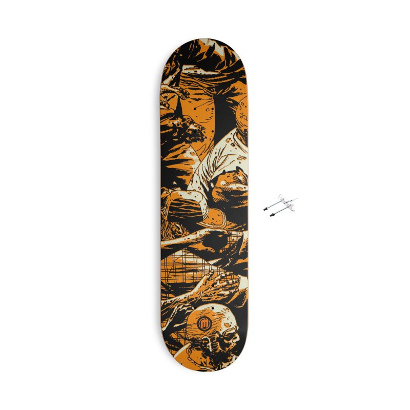 Zombie Attack Accessories With Hanging Hardware Skateboard by MAXIMOGRAFICO — shop
