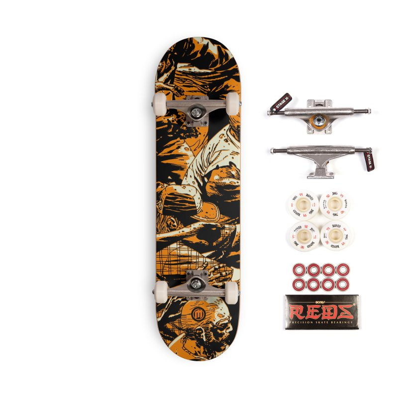 Zombie Attack Accessories Complete - Pro Skateboard by MAXIMOGRAFICO — shop