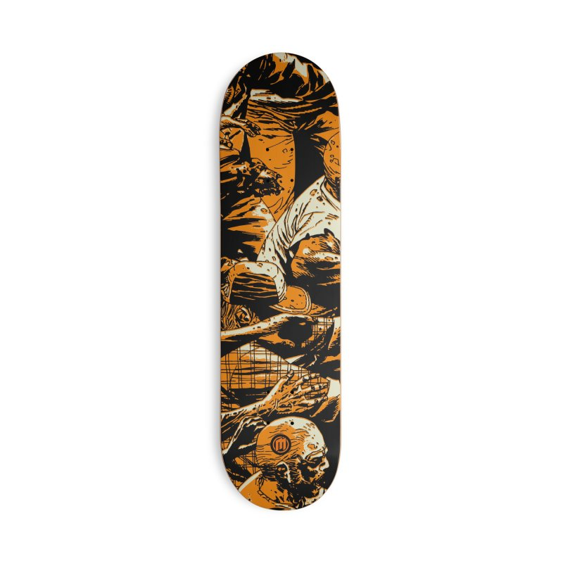 Zombie Attack Accessories Deck Only Skateboard by MAXIMOGRAFICO — shop