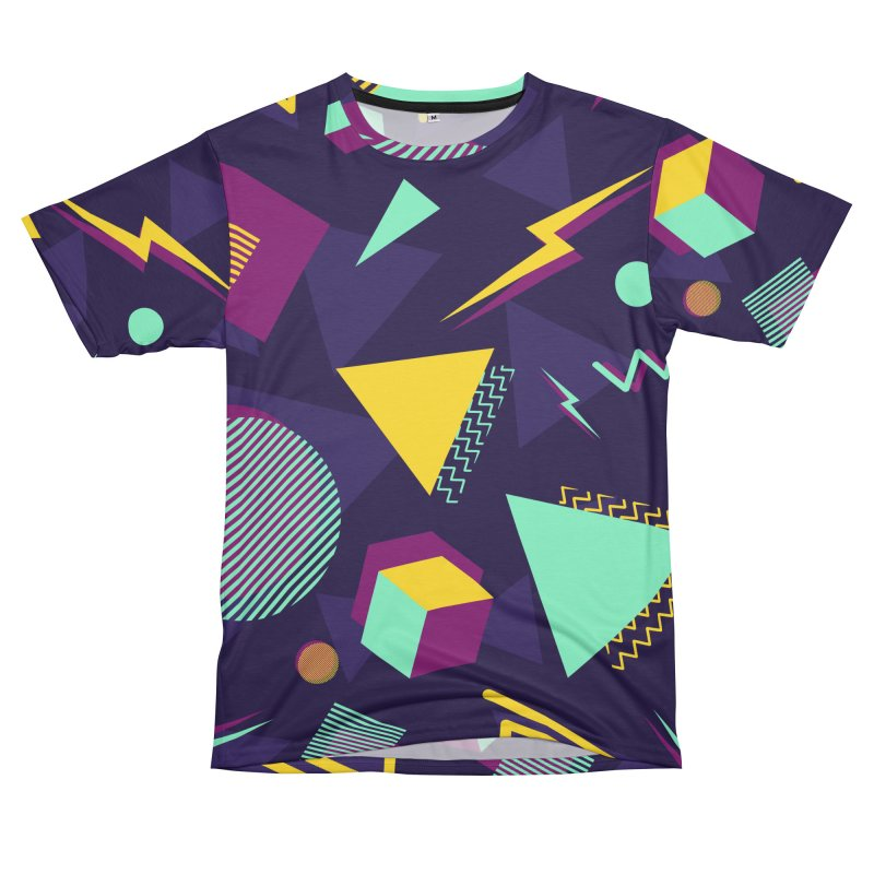 Memphis Dark Women's Unisex T-Shirt Cut & Sew by MAXIMOGRAFICO — shop