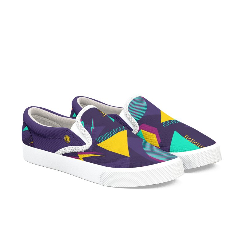 Memphis Dark Women's Slip-On Shoes by MAXIMOGRAFICO — shop