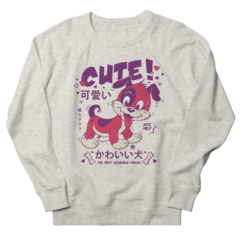 Cute Attack Women's French Terry Sweatshirt by MXM — collection