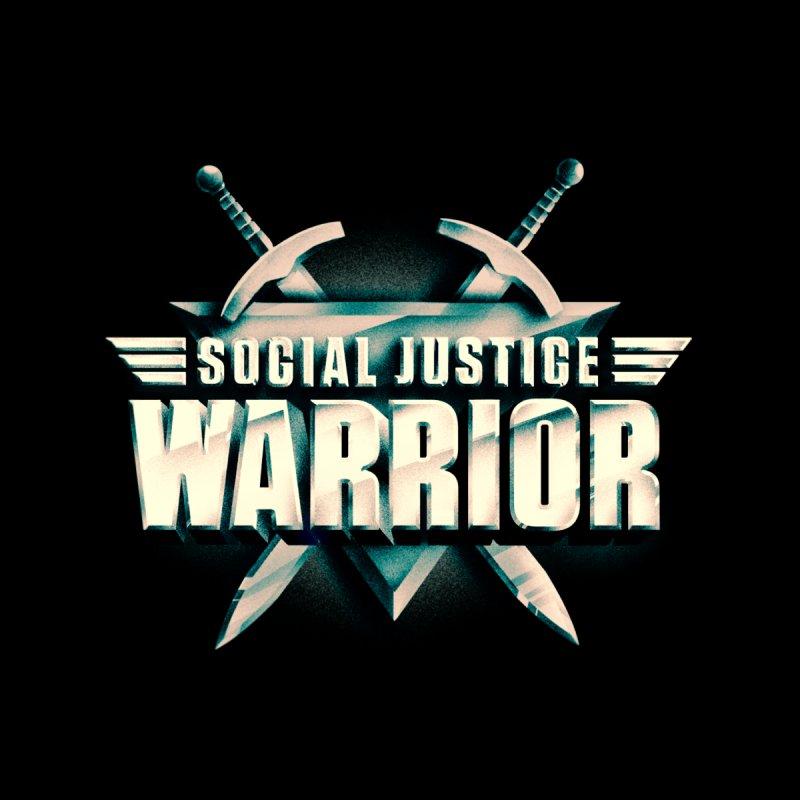 Social Justice Warrior Men's Sweatshirt by MAXIMOGRAFICO — shop