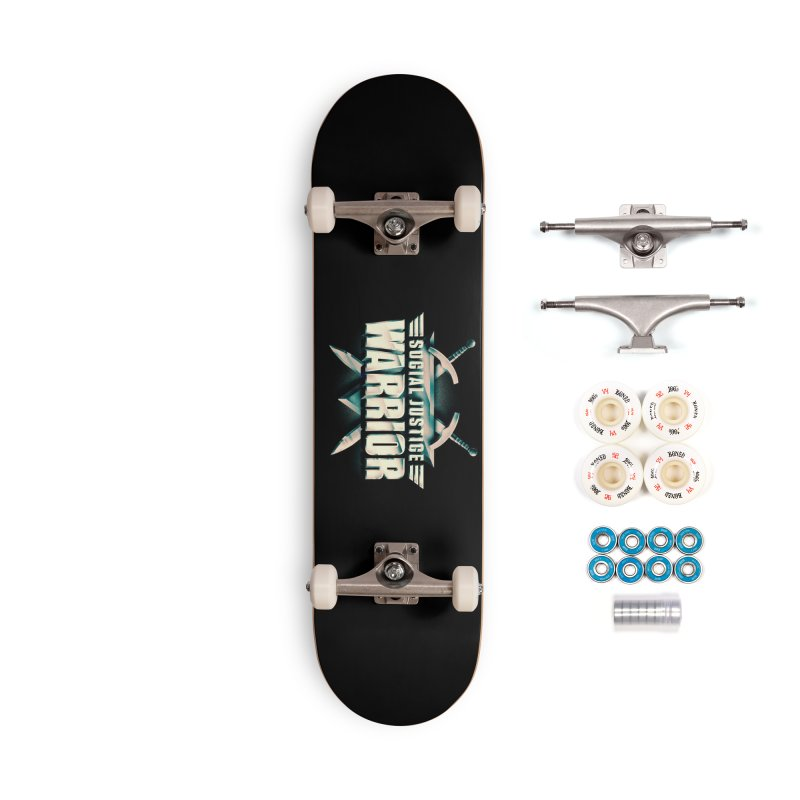 Social Justice Warrior Accessories Complete - Premium Skateboard by MAXIMOGRAFICO — shop