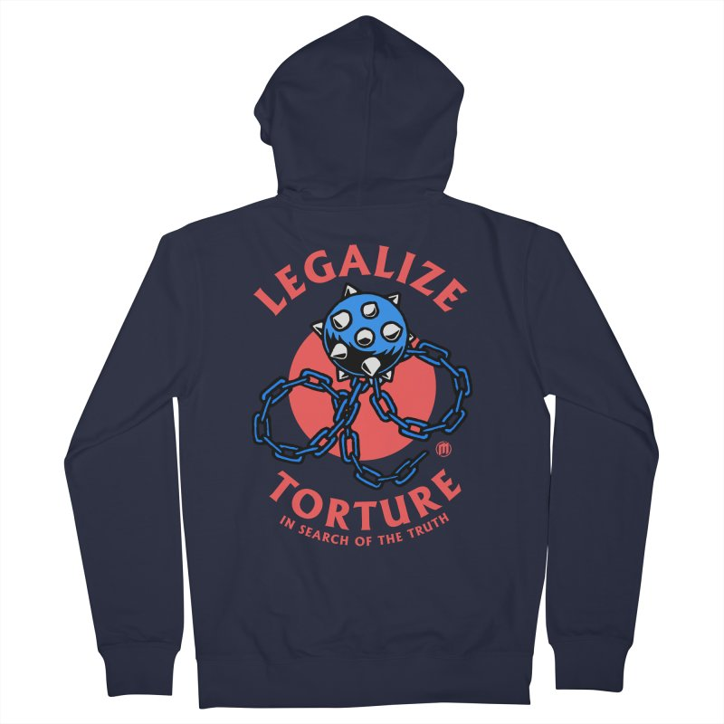 Legalize Torture Women's French Terry Zip-Up Hoody by MAXIMOGRAFICO — shop