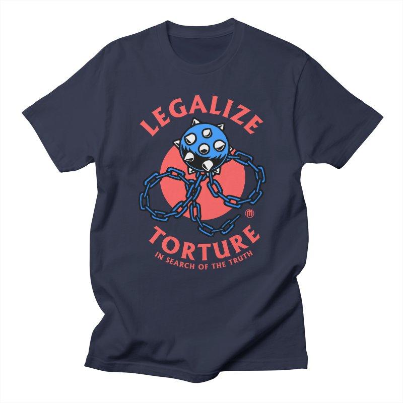 Legalize Torture Men's Regular T-Shirt by MAXIMOGRAFICO — shop