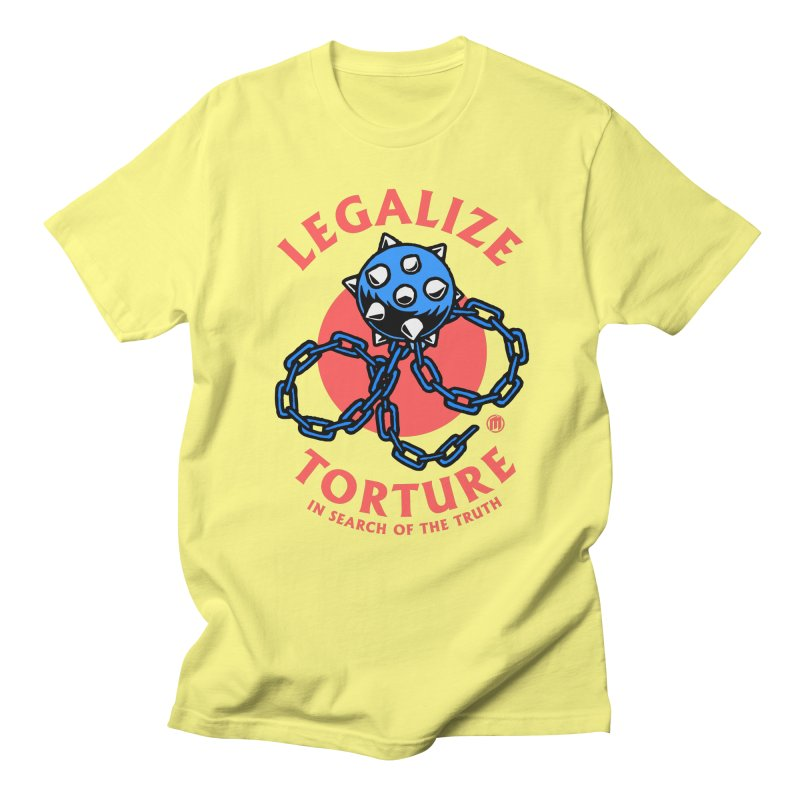 Legalize Torture in Men's Regular T-Shirt Lemon by MAXIMOGRAFICO — collection