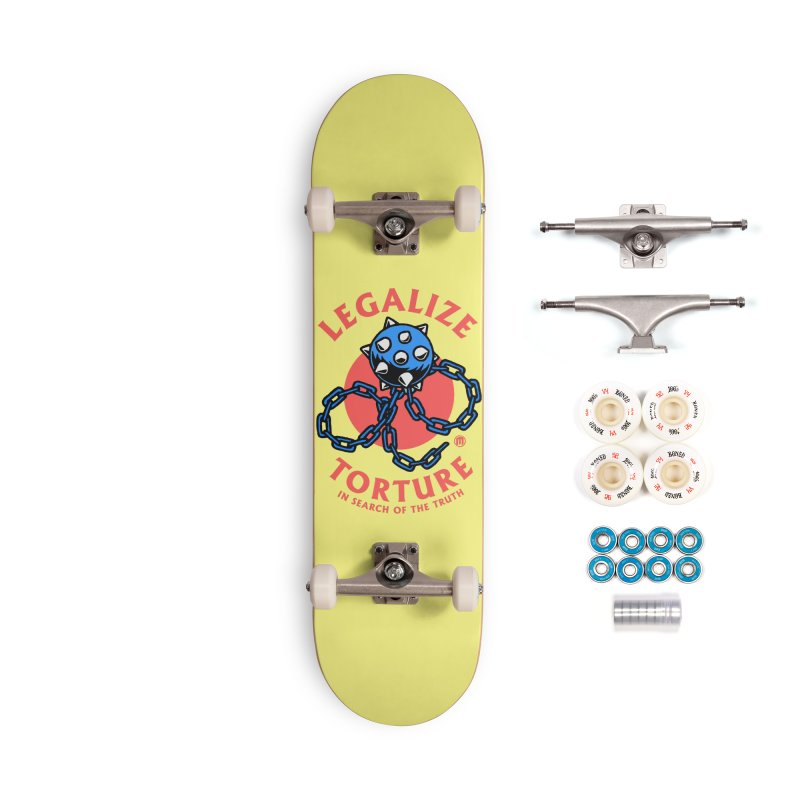 Legalize Torture Accessories Complete - Premium Skateboard by MAXIMOGRAFICO — shop