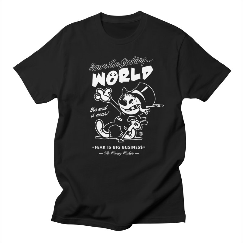 Big Business in Men's Regular T-Shirt Black by MAXIMOGRAFICO — shop