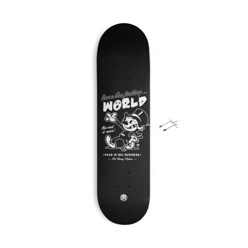 Big Business Accessories With Hanging Hardware Skateboard by MAXIMOGRAFICO — shop