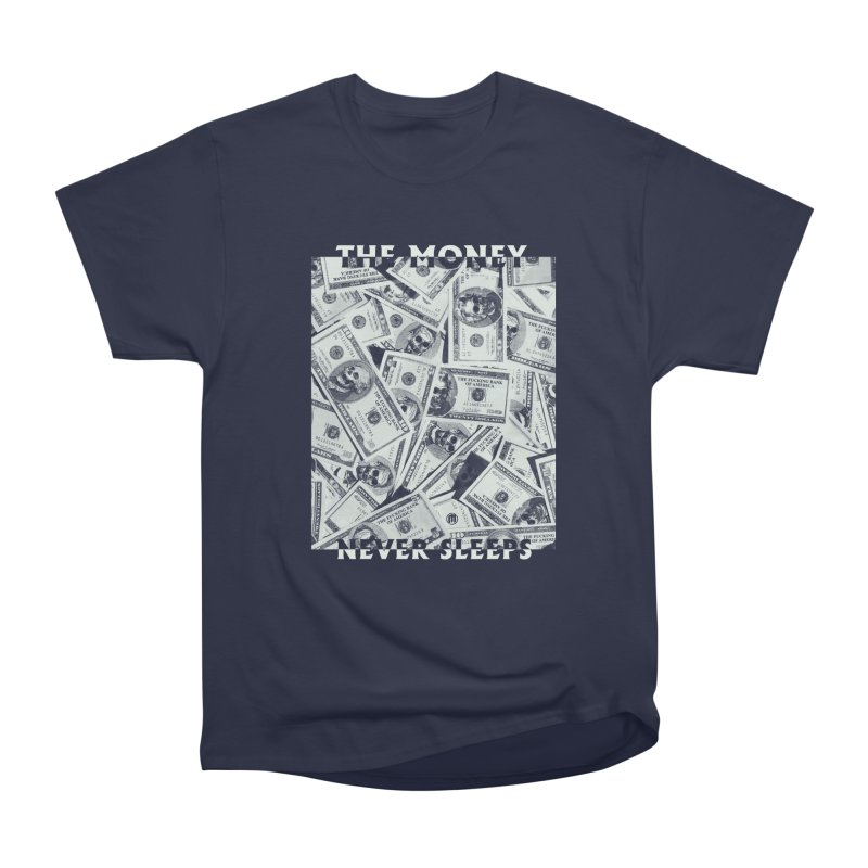 Never Sleeps Men's Heavyweight T-Shirt by MAXIMOGRAFICO — shop