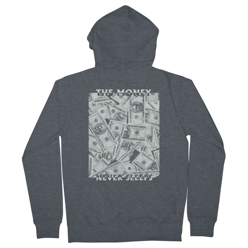 Never Sleeps Women's French Terry Zip-Up Hoody by MAXIMOGRAFICO — collection