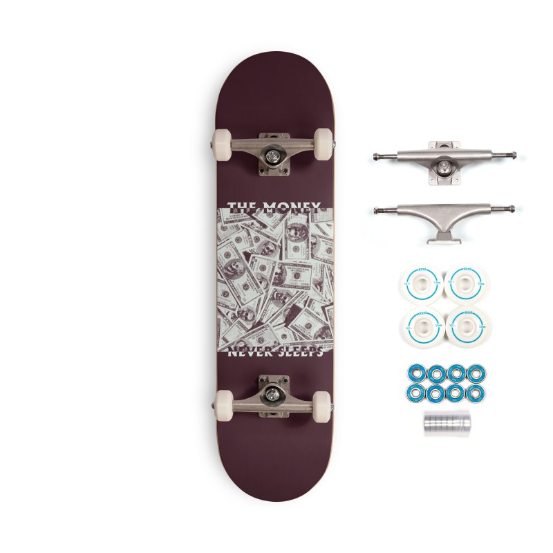 Never Sleeps Accessories Complete - Basic Skateboard by MAXIMOGRAFICO — shop