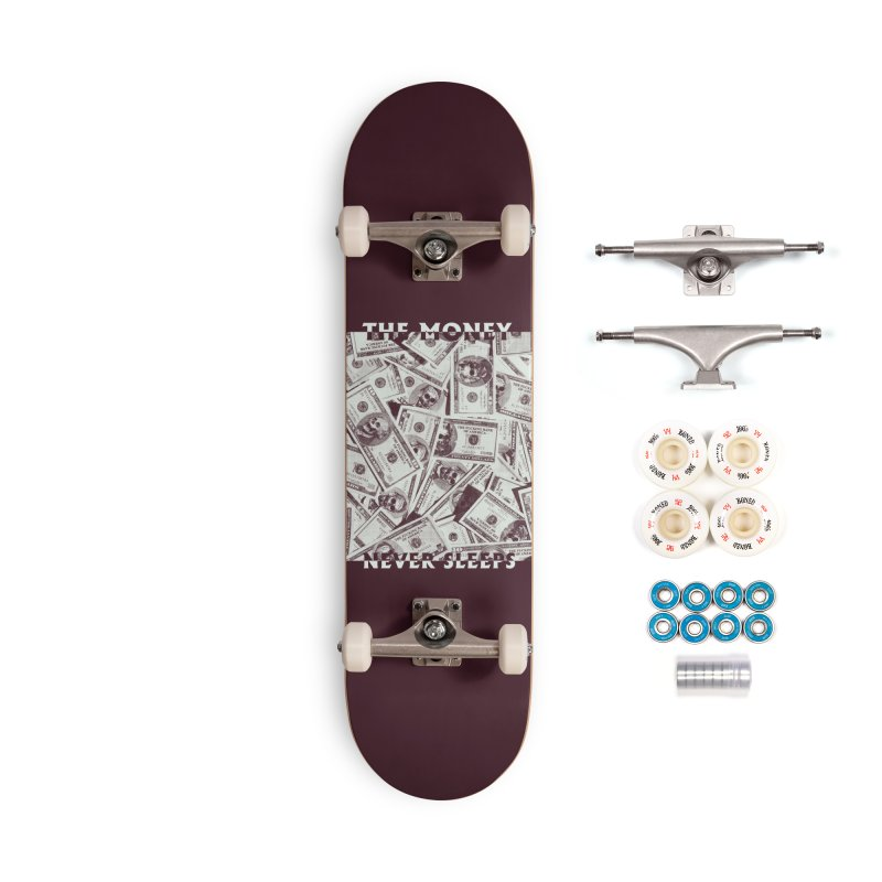 Never Sleeps Accessories Complete - Premium Skateboard by MAXIMOGRAFICO — shop