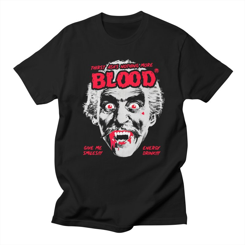 Drink Blood Men's T-Shirt by MAXIMOGRAFICO — shop