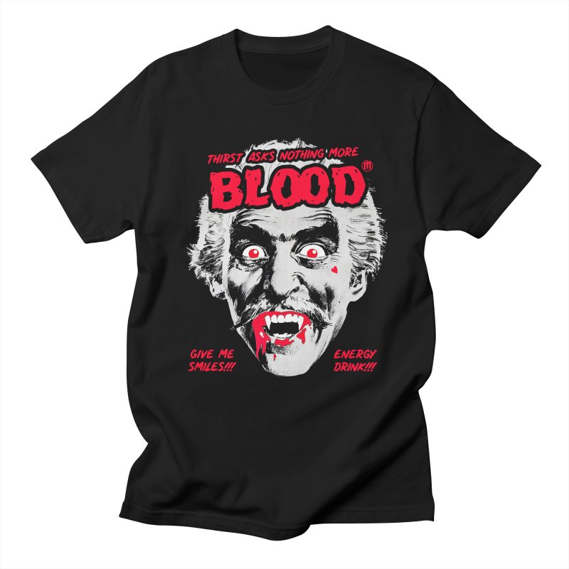 Drink Blood in Men's Regular T-Shirt Black by MAXIMOGRAFICO — collection