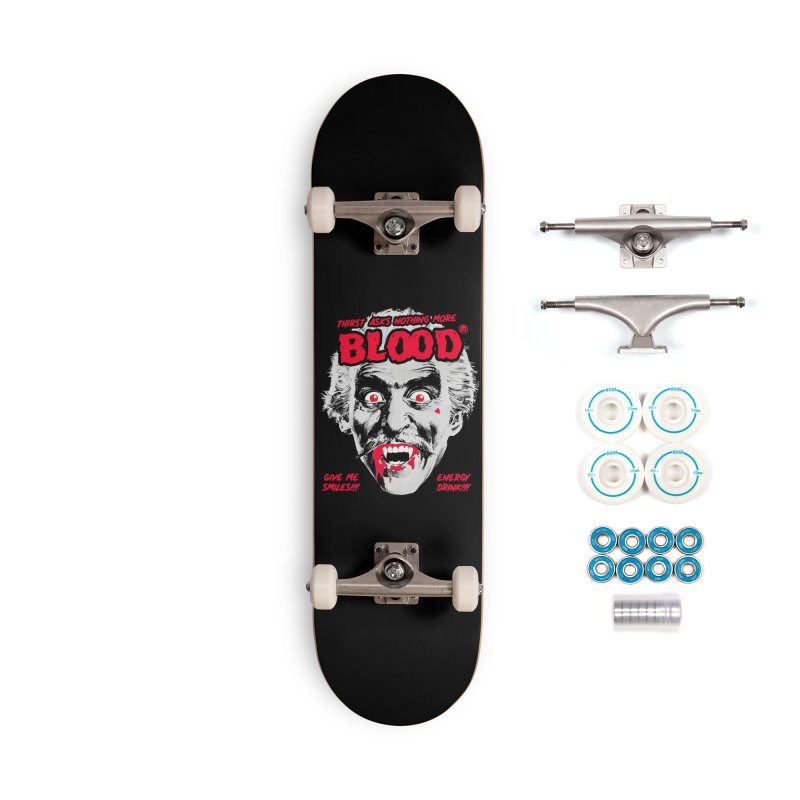Drink Blood Accessories Complete - Basic Skateboard by MAXIMOGRAFICO — shop