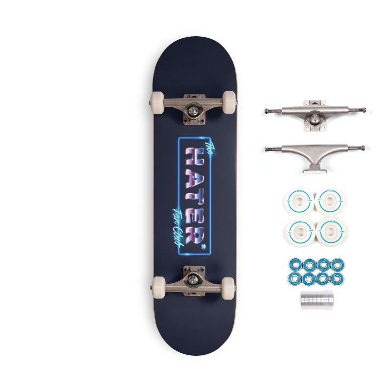 The Hater Fan Club® Accessories Complete - Basic Skateboard by MAXIMOGRAFICO — shop