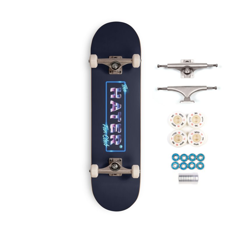 The Hater Fan Club® Accessories Complete - Premium Skateboard by MAXIMOGRAFICO — shop