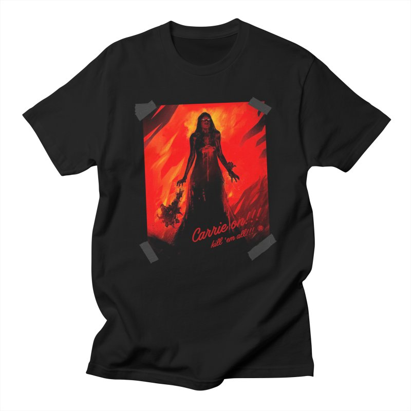 Carrie on!!! Men's T-Shirt by MAXIMOGRAFICO — shop