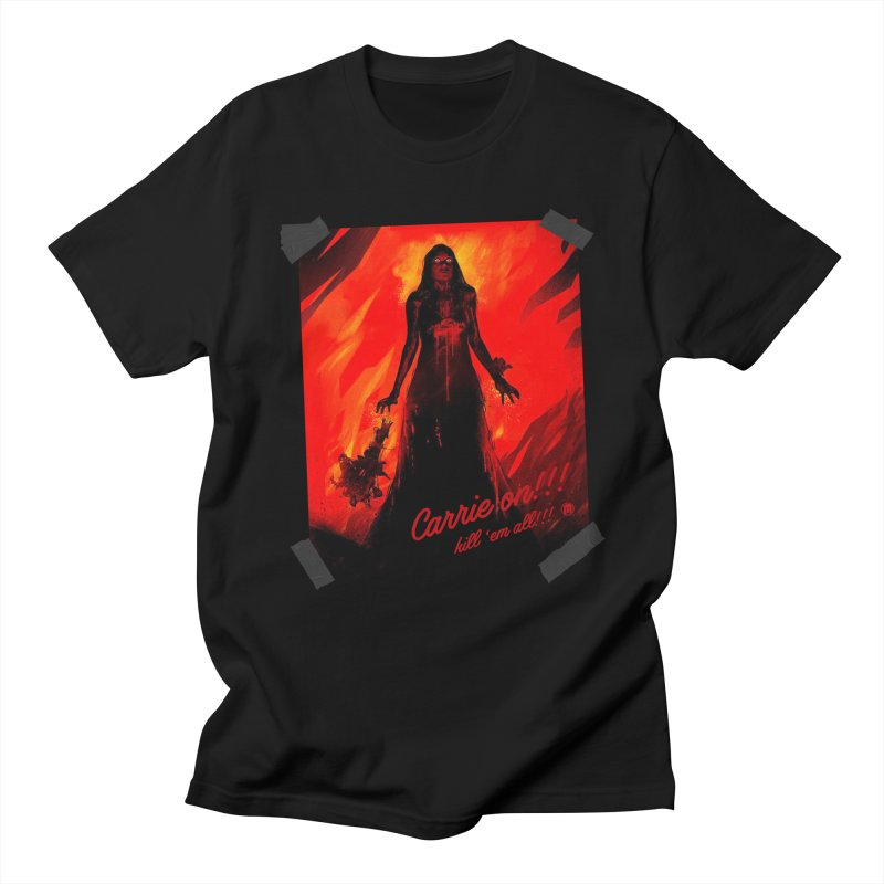 Carrie on!!! Men's Regular T-Shirt by MAXIMOGRAFICO — shop