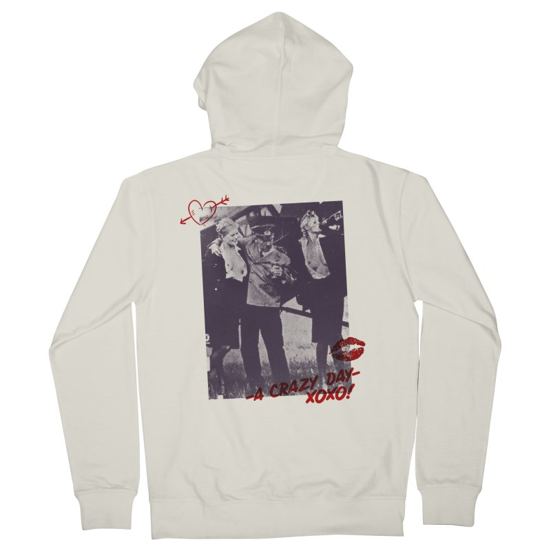 A Crazy Day Men's French Terry Zip-Up Hoody by MAXIMOGRAFICO — collection