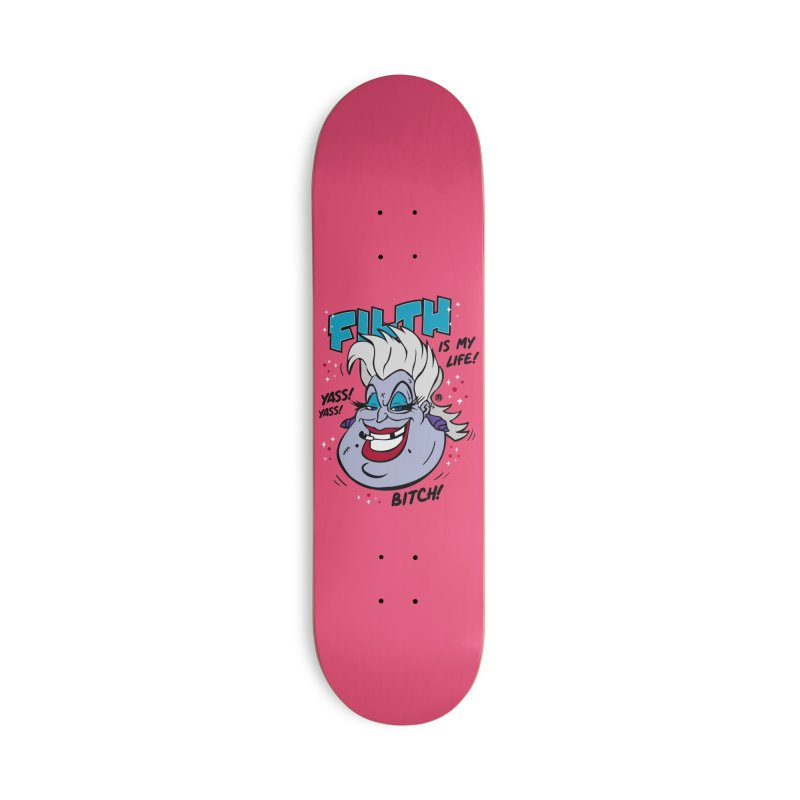 Filth Accessories Deck Only Skateboard by MAXIMOGRAFICO — collection
