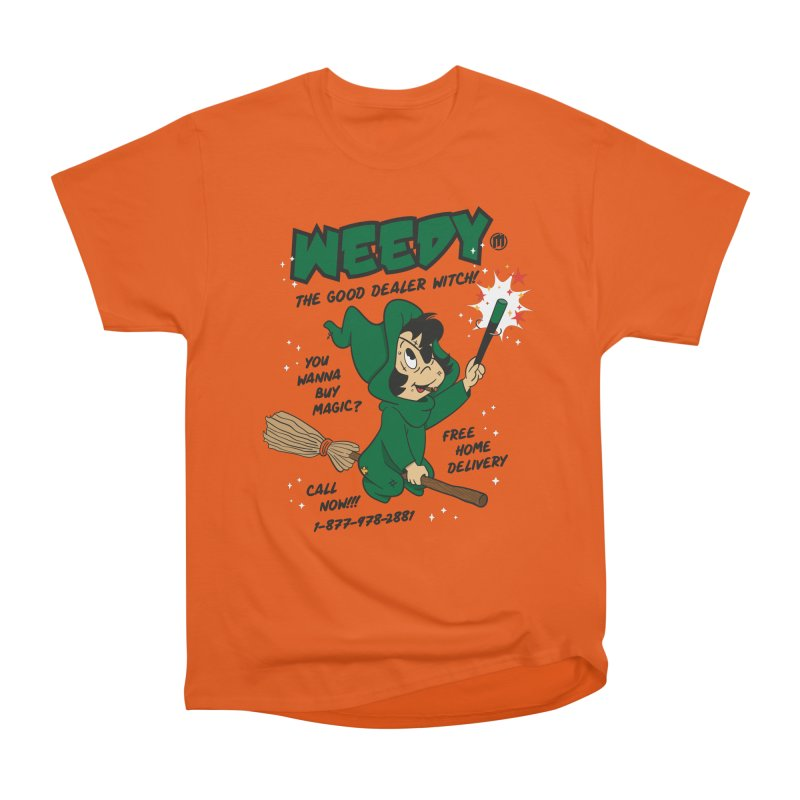 Weedy Men's Heavyweight T-Shirt by MAXIMOGRAFICO — collection