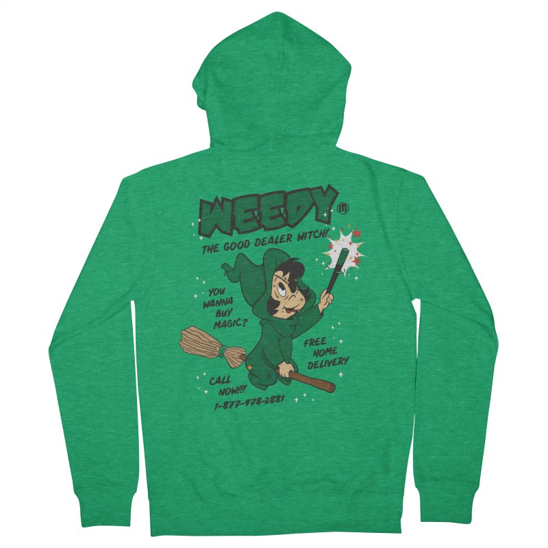 Weedy Women's Zip-Up Hoody by MAXIMOGRAFICO — collection