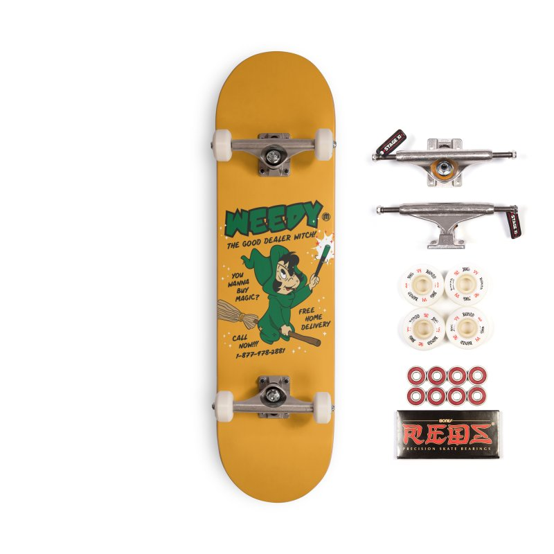Weedy Accessories Complete - Pro Skateboard by MXM — collection