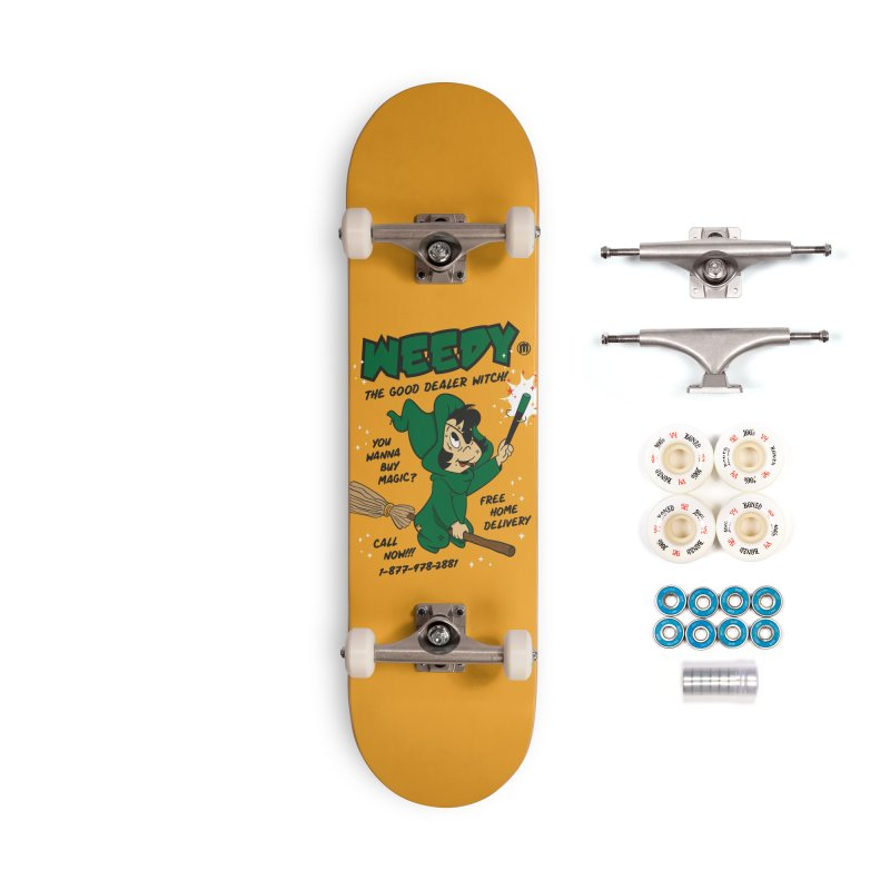 Weedy Accessories Complete - Premium Skateboard by MAXIMOGRAFICO — collection