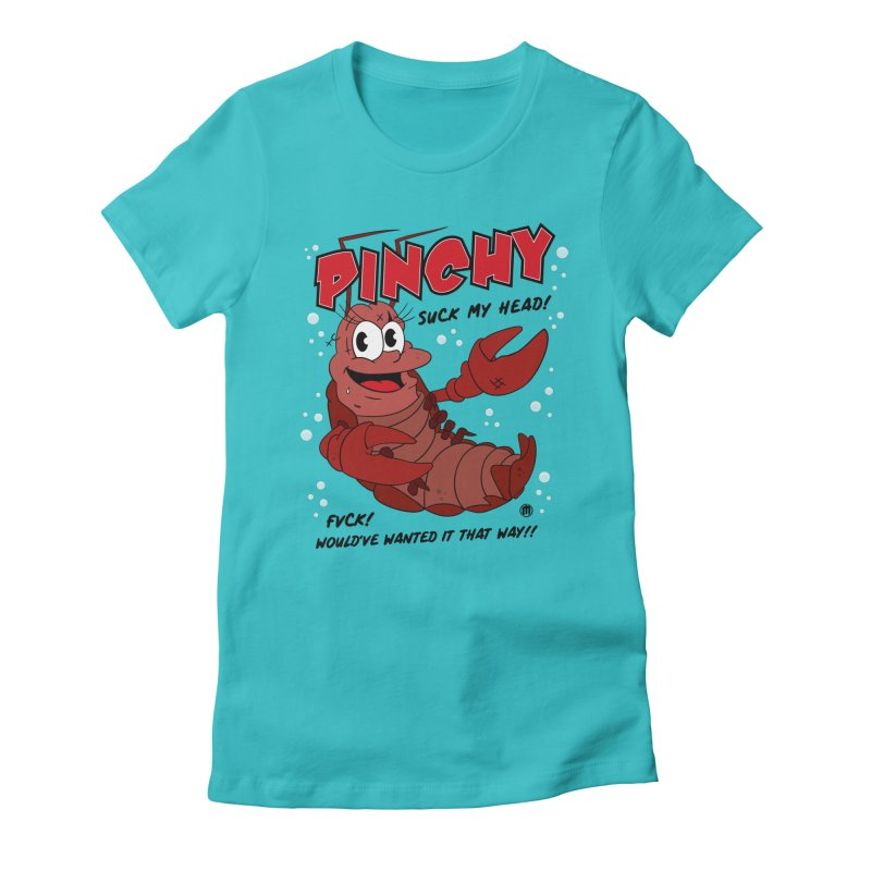 Pinchy Women's Fitted T-Shirt by MAXIMOGRAFICO — collection