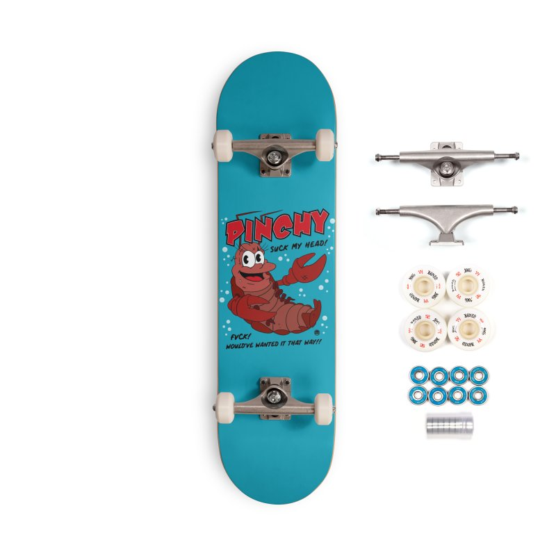 Pinchy Accessories Complete - Premium Skateboard by MAXIMOGRAFICO — collection