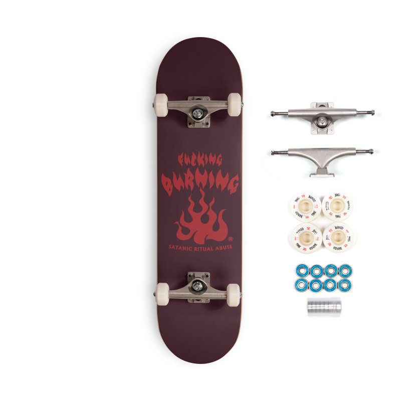 Fucking Burning Accessories Complete - Premium Skateboard by MAXIMOGRAFICO — collection