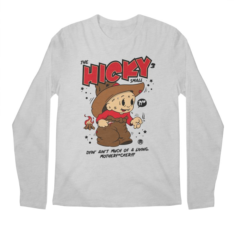 Hicky Men's Longsleeve T-Shirt by MAXIMOGRAFICO Ltd. Collection