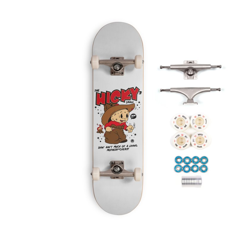 Hicky Accessories Complete - Premium Skateboard by MAXIMOGRAFICO — collection