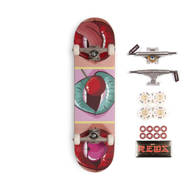 Sweet Lips Accessories Complete - Pro Skateboard by MAXIMOGRAFICO — collection