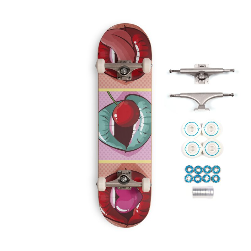 Sweet Lips Accessories Complete - Basic Skateboard by MAXIMOGRAFICO — collection