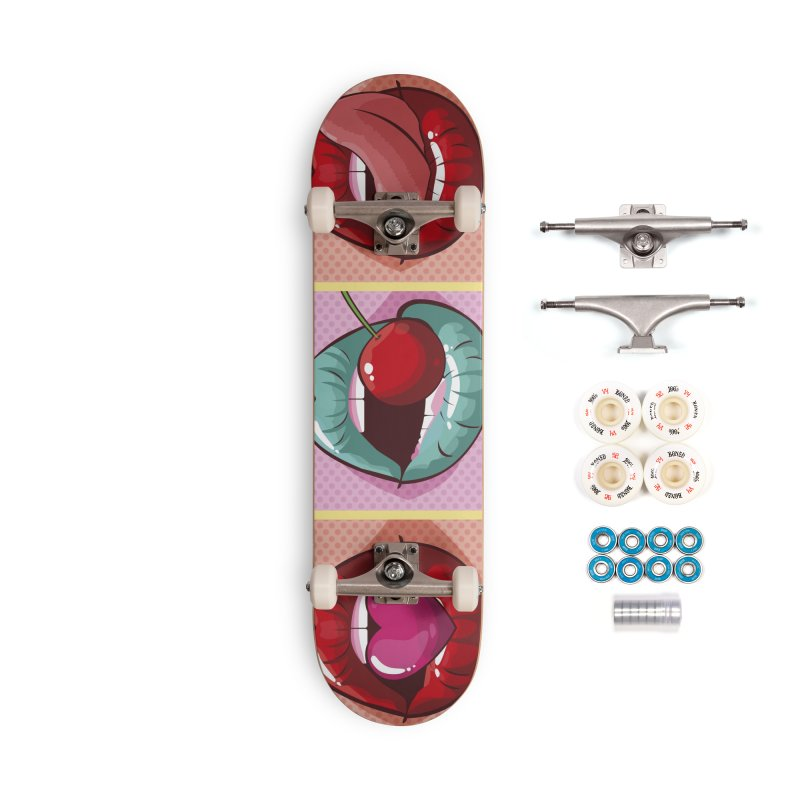 Sweet Lips Accessories Complete - Premium Skateboard by MAXIMOGRAFICO — collection