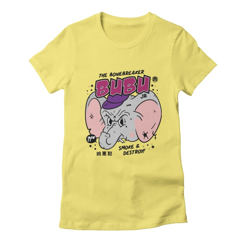 Bubu Women's T-Shirt by MAXIMOGRAFICO Ltd. Collection