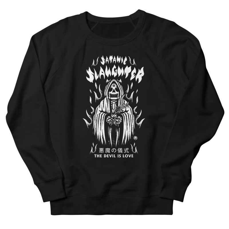 Slaughter Women's French Terry Sweatshirt by MAXIMOGRAFICO — collection