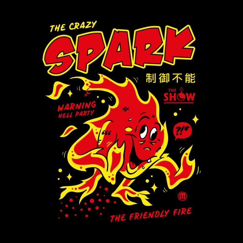 Spark Men's T-Shirt by MAXIMOGRAFICO Ltd. Collection