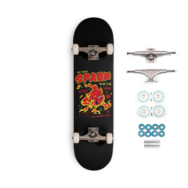 Spark Accessories Complete - Basic Skateboard by MAXIMOGRAFICO — collection