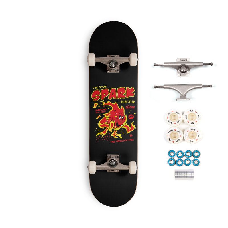 Spark Accessories Complete - Premium Skateboard by MAXIMOGRAFICO — collection